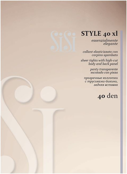 Immagine di art. 601SI Collant Style 40 Extra