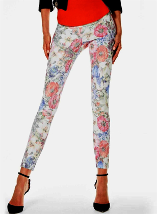 圖片 art. Y325SI LEGGINGS / JEGGINGS BLURRED Fantasia Floreale