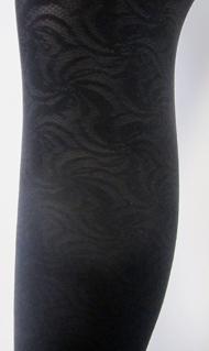 art. 1380SI Folly Collant Moda Coprente COLORE NERO の画像