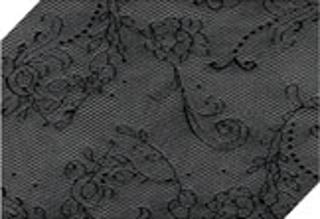 art. 1384SI Novel Collant Lavorato Semilucido COLORE NERO の画像