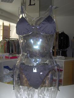 art. 5115 Bikini, Costume Triangolino COLORE NERO の画像