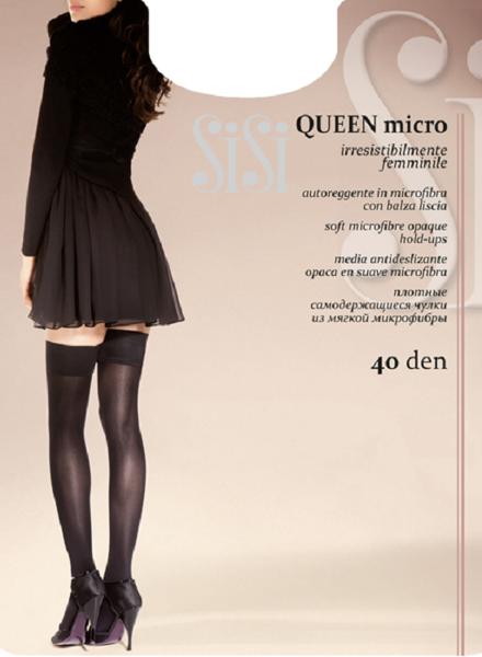 art. 97SI Collant Queen MICRO 40 (autoreggente) の画像