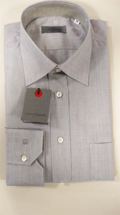 Camicia uomo Confort Fit Button Down LAURA BIAGIOTTI 1320T (100% made in Italy) の画像