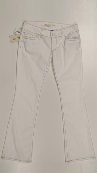 Immagine di GUESS Jeans Bianco Bootcut donna art. GWA016-EZ902 Vita Bassa (Low Rise)