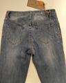 Immagine di Jeans Stretch Slim Fit con Strass sui Fianchi GHIACCIO E LIMONE art. F5144