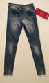 Immagine di Jeans Stretch Slim Fit Borchiato e Stropicciato TIMIAMI art. 001