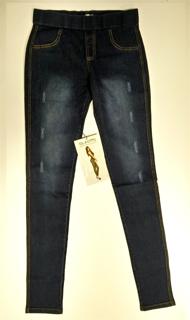 Immagine di Pantalone Leggings moda GLADYS art. PD0900 COLORE UNICO JEANS