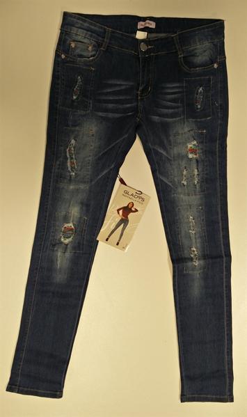 Immagine di Pantalone Leggings Patchwork moda GLADYS art. PD1103