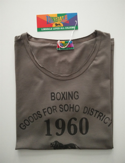 Immagine di T-Shirt LONSDALE art. 750281 COLORE FANGO