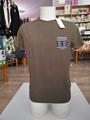 Immagine di T-Shirt Uomo CRANBERRY con taschina jacquard art. C13124