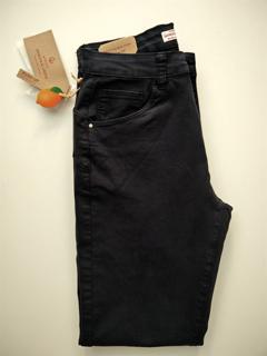 Pantalone in Cotone Stretch Push Up GHIACCIO E LIMONE art. F5164 COLORE BLU の画像