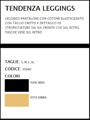 art. Y504SI PANTALONE / LEGGINGS TENDENZA Sisi moda PE 2018 の画像