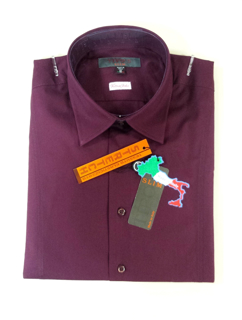 Immagine di Camicia TIPO'S Slim Fit & Stretch e Calibrata Oversize COLORE BORDO'