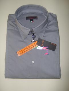 Immagine di Camicia TIPO'S Slim Fit & Stretch e Calibrata Oversize COLORE GRIGIO