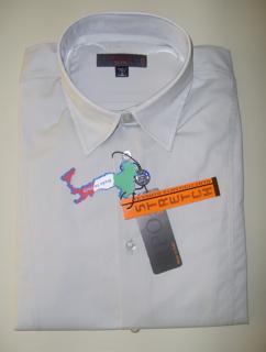 圖片 Camicia TIPO'S Slim Fit & Stretch e Calibrata Oversize COLORE GRIGIO CHIARO