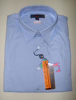 Immagine di Camicia TIPO'S Slim Fit & Stretch e Calibrata Oversize COLORE CELESTE