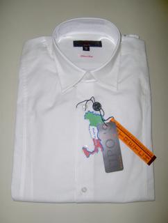 Immagine di Camicia TIPO'S Slim Fit & Stretch e Calibrata Oversize COLORE BIANCO