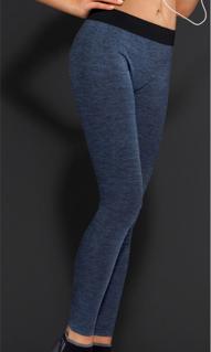 圖片 LEGGING LUNGO EXERCISE art. I1419IN Pantalone sportivo in NerinoG COLORE UNICO