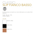 Immagine di art. O059 GL Slip Fianco Basso GOLDEN LADY in NerinoG