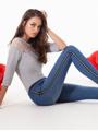 Immagine di Omsa art. 3647OM Jeans / Legging ZIPPER OMSA PE 2019