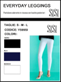 Immagine di Sisi art. Y599SI Pantalone / Legging EVERYDAY SISI PE 2019