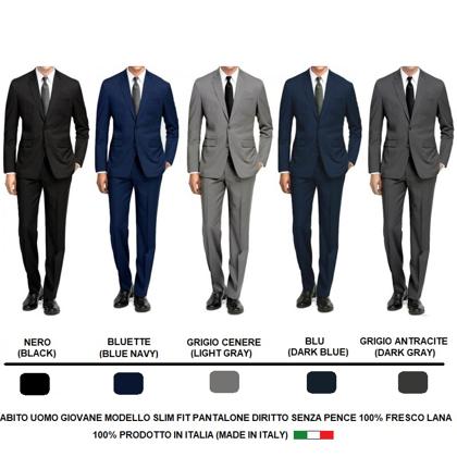 Immagine di Abito Uomo Giacca + Pantalone Slim Fit LINEA SARTORIALE