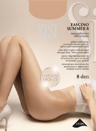 art. 879SI / 42si Collant 8 den - Fascino Summer 8 / Fascino 8 - Tuttonudo Velatissimo effetto abbronzato naturale の画像